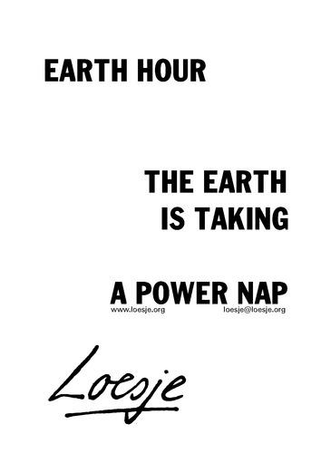 Earth hour 2