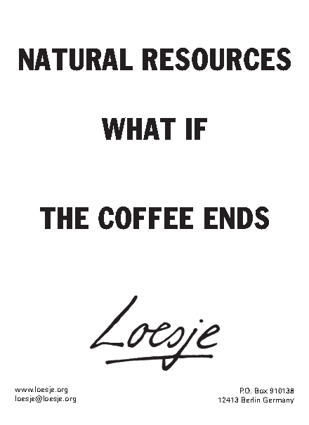 coffee ends