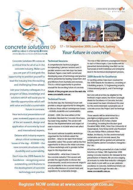 concrete solutions 09