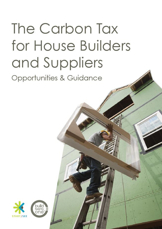 Carbon tax for house builders and suppliers