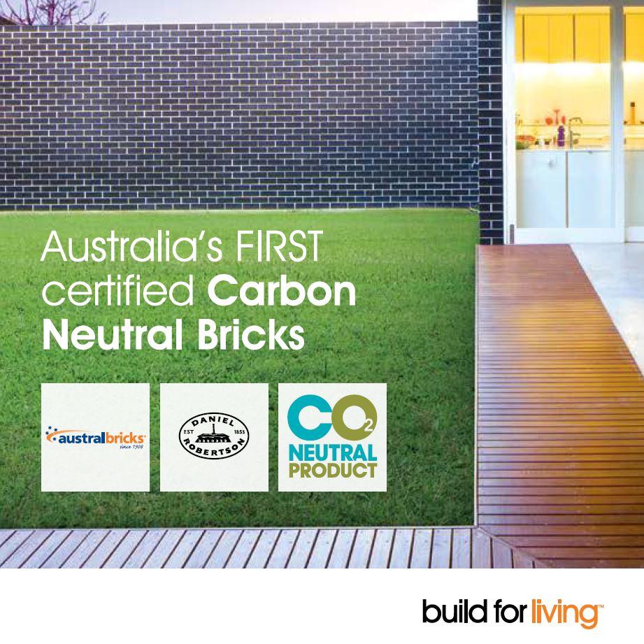 First CO2 neutral bricks
