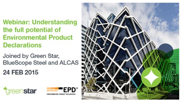 GBCA EPD webinar 2015