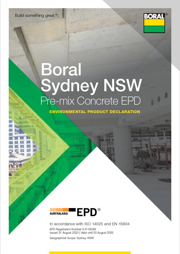 Boral Sydney pre-mix concrete